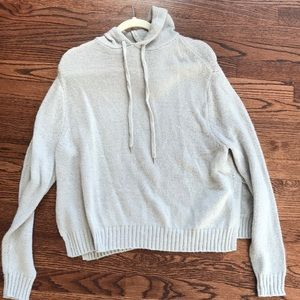 Marshall's grey sweater